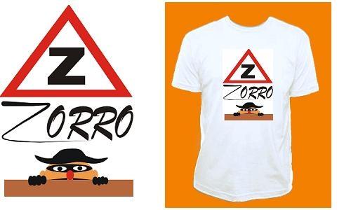 Detail návrhu pozor Zorro