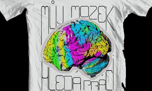 Detail návrhu Můj mozek hledá práci