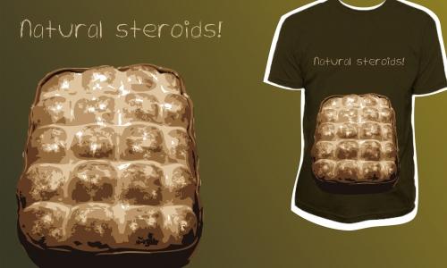 Detail návrhu Natural steroids