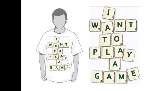 Detail návrhu I want to play a game.