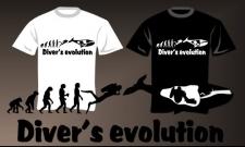 Diver's evolution