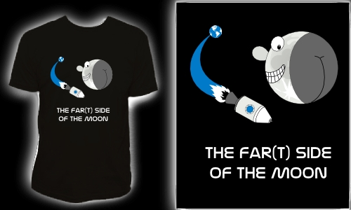 Detail návrhu Far(t) side of the Moon