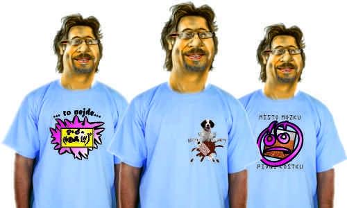 Detail návrhu náhled triček
