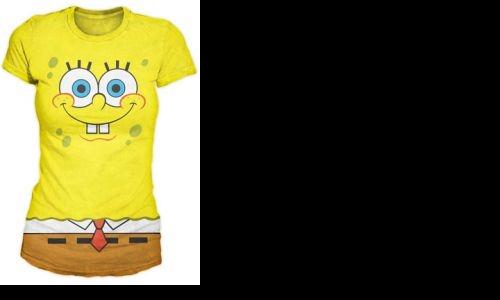 Detail návrhu Spongebob