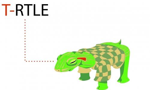 Detail návrhu T-rtle