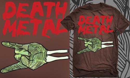 Detail návrhu Death Metal \m/