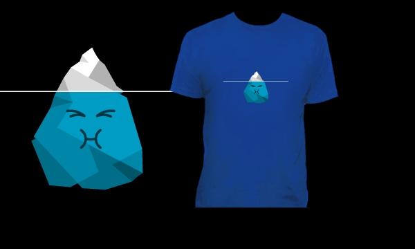 Detail návrhu Ledovec