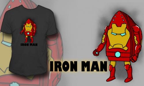 Detail návrhu IRON MAN