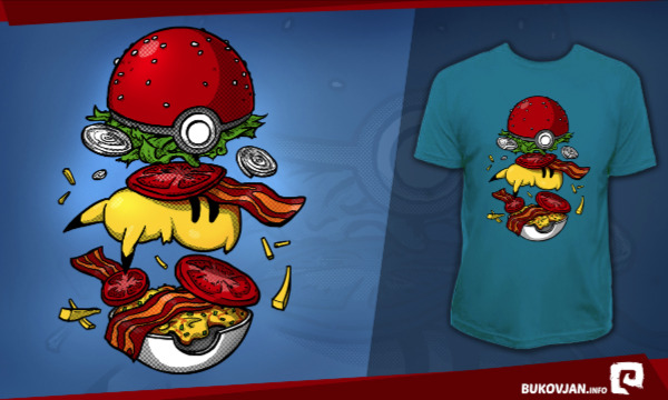Detail návrhu Pokéburger