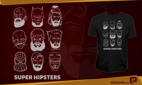 Detail návrhu Super Hipsters