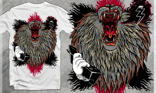 Detail návrhu The Power of Lions