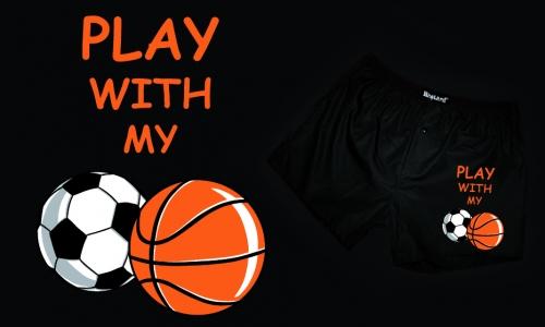 Detail návrhu Play with my balls.. :))