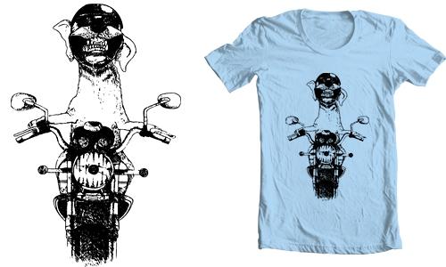 Detail návrhu Biker Dog