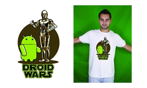 Detail návrhu Droid Wars