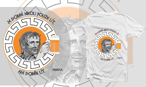 Detail návrhu Seneca lije