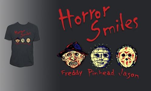 Detail návrhu Horror Smiles