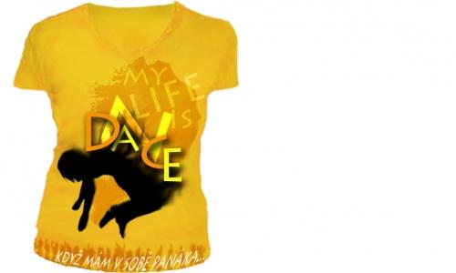 Detail návrhu Dance