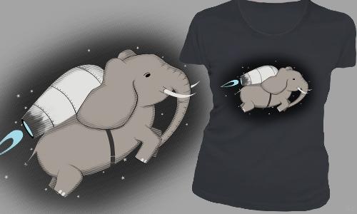 Detail návrhu Slon