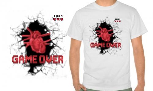 Detail návrhu GAME never OVER