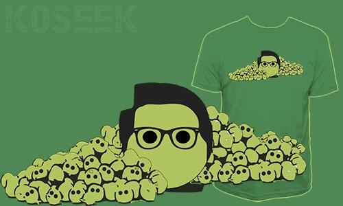 Detail návrhu Black Eyed Peas:-)...