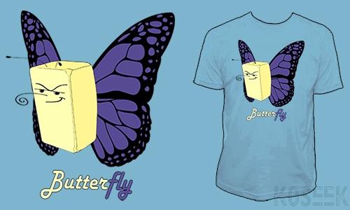 Detail návrhu Butterfly