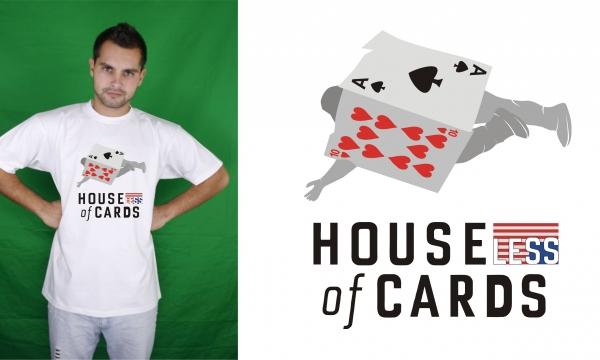 Detail návrhu Houseless of Cards