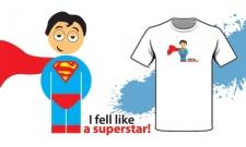 I feel like a superstar!