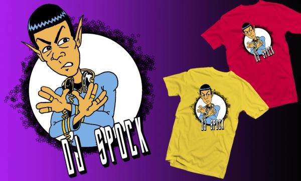 Detail návrhu DJ Spock