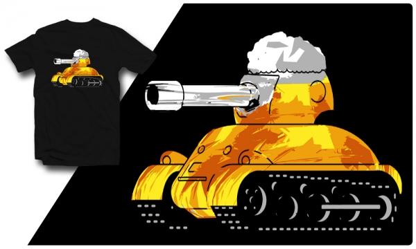 Detail návrhu Pivní Tank