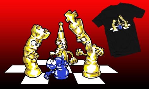 Detail návrhu Šachy