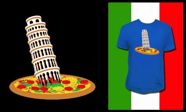 Detail návrhu Šikmá věž v Pizze