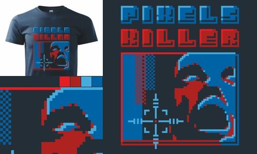 Detail návrhu Pixels Killer