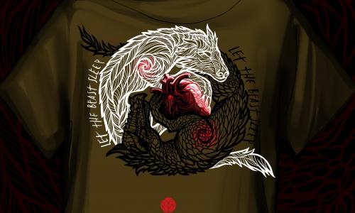 Detail návrhu Jing-Jang beasts II
