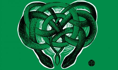 Detail návrhu Snake Love