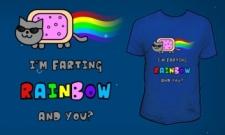 I´m farting RAINBOW