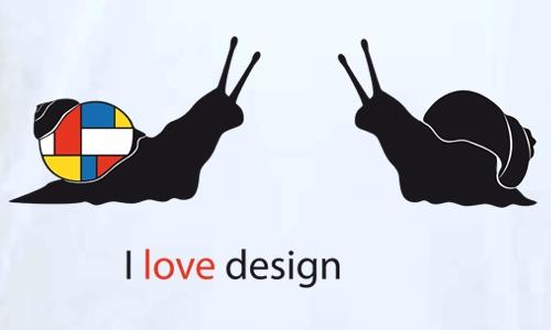 Detail návrhu Designový hlemýžď