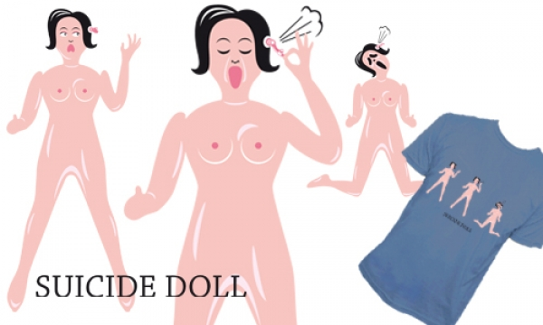 Detail návrhu suicide doll