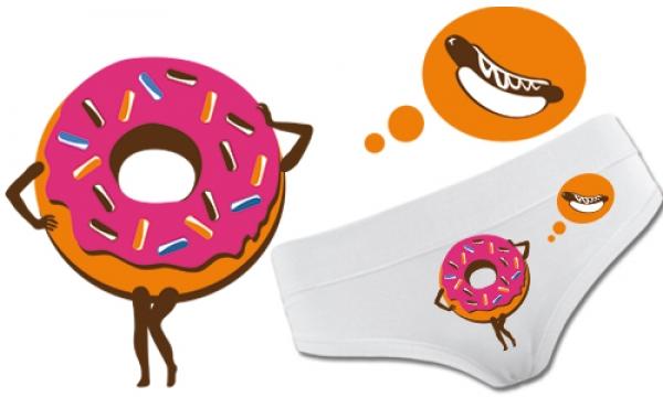 Detail návrhu sweet donut