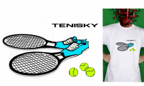 Detail návrhu TENISKY