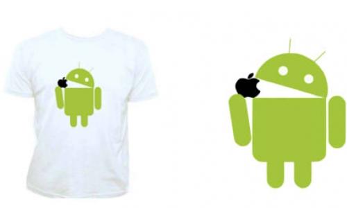 Detail návrhu Android vs apple