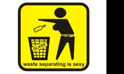 Detail návrhu WASTE SEPARATING IS SEXY!