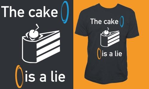 Detail návrhu The cake is a lie
