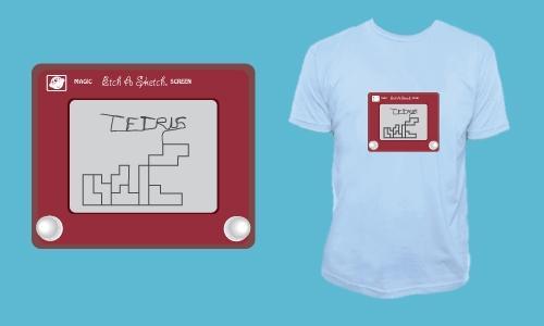 Detail návrhu Tetris Sketch