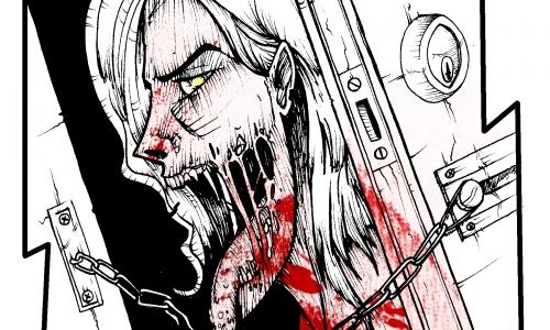 Detail návrhu ZOMBIE :Som hladnučká