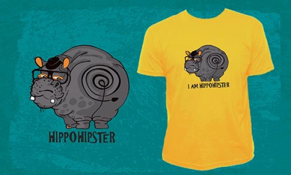 Detail návrhu Hippohipster