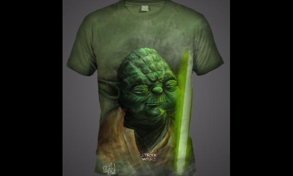 Detail návrhu Yoda-STRYKWars