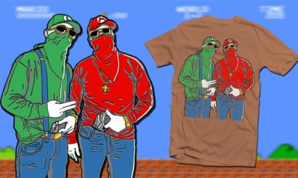 Detail návrhu gangsters