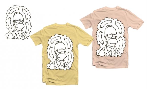 Detail návrhu Homer a jelito2