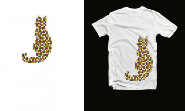 Detail návrhu Rubikova kočka