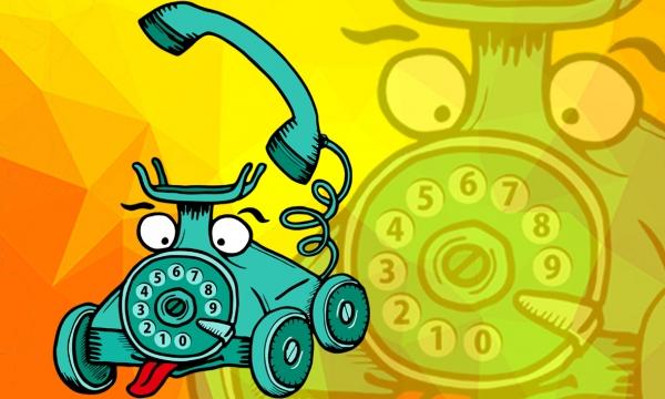 Detail návrhu Mobilný telefón :P